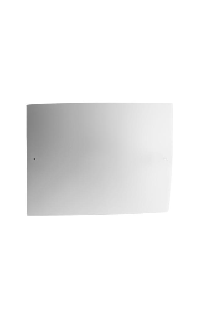 Lampada da parete Folio in vetro soffiato satinato e metallo laccato creata da Carlo Urbinati e Alessandro Vecchiato per Foscarini