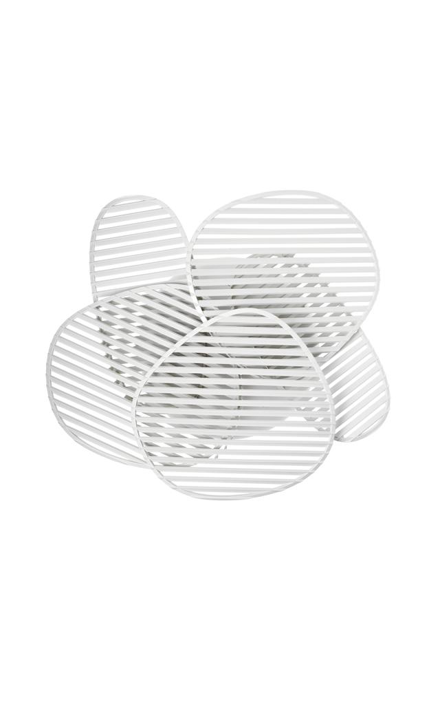 Lampada da parete Nuage in policarbonato stampato a iniezione e ABS masterizzato creata da Philippe Nigro per Foscarni
