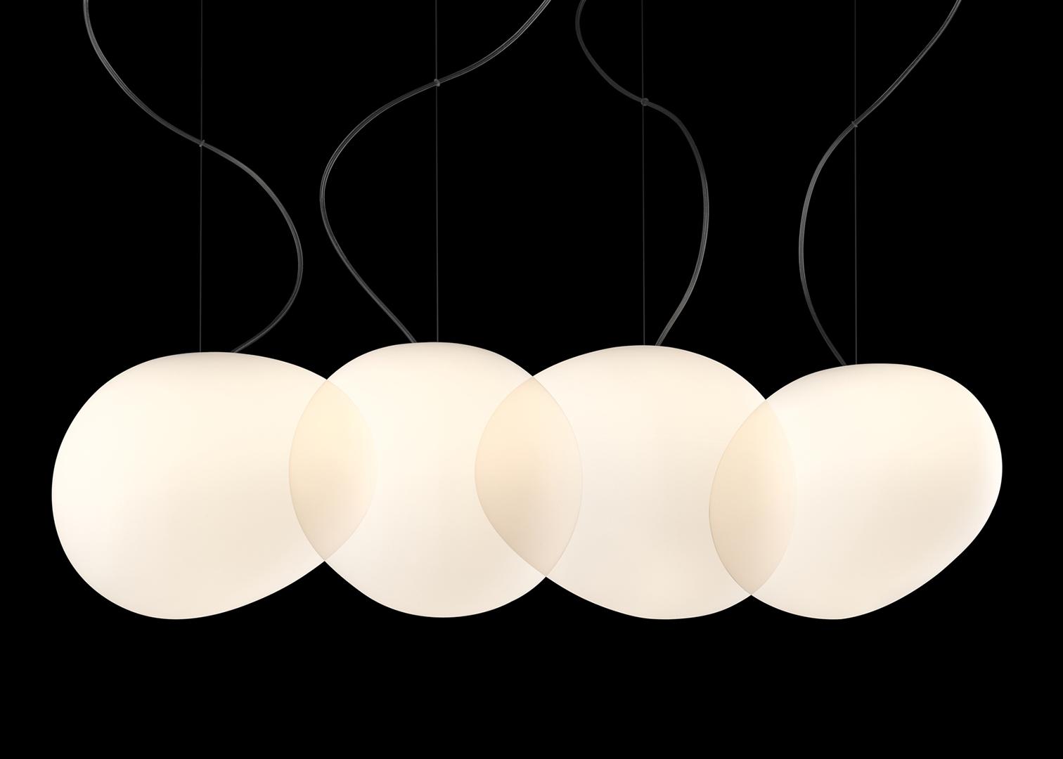 Applique foscarini foscarini fields parete bianco lampada da