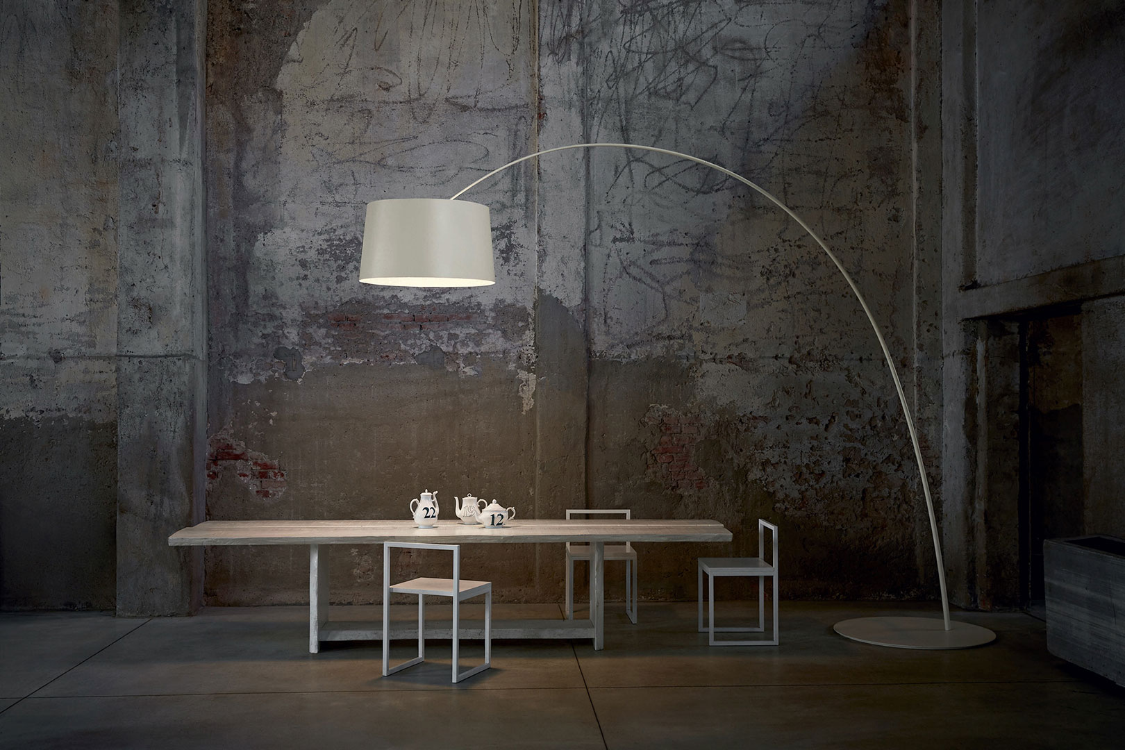 Plafoniera Foscarini : Twiggy floor lamps in living room the best solution foscarini.com
