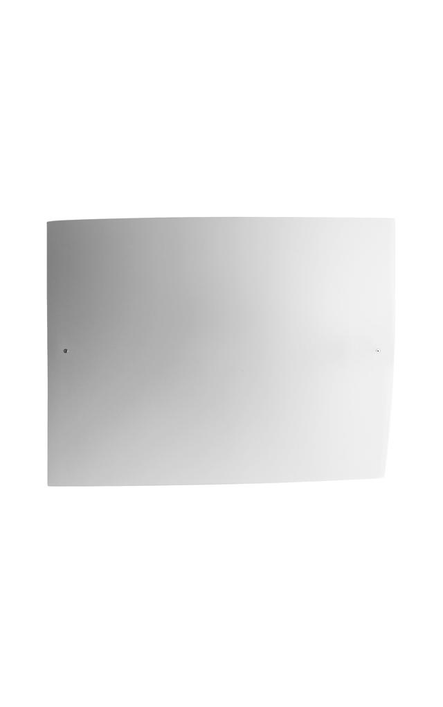 Lampada da soffitto Folio in vetro soffiato satinato e metallo laccato creata da Carlo Urbinati e Alessandro Vecchiato per Foscarini