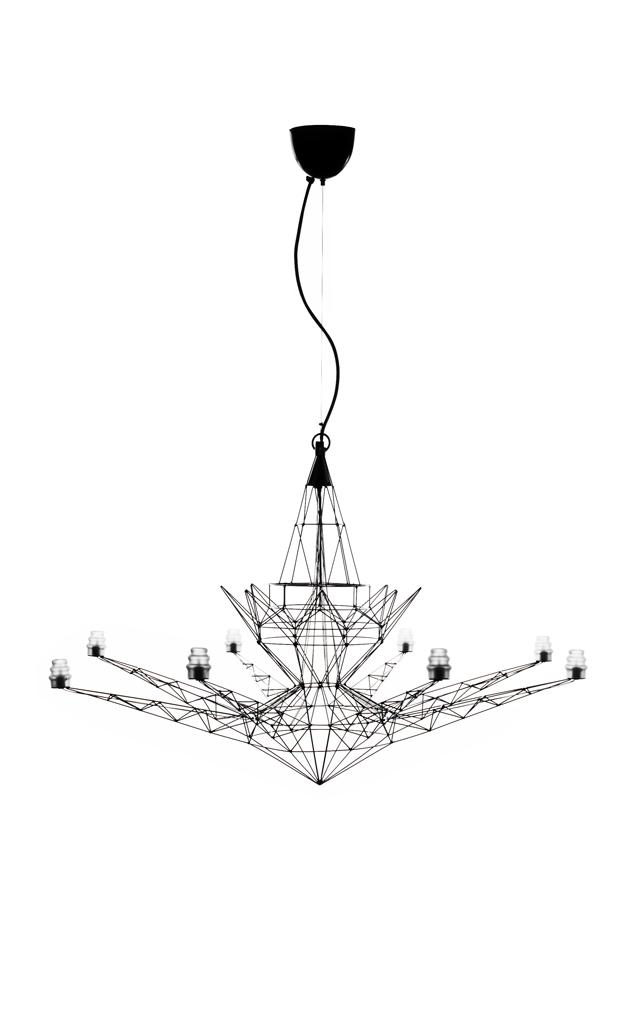 Lampada a sospensione Lightweight in metallo anodizzato