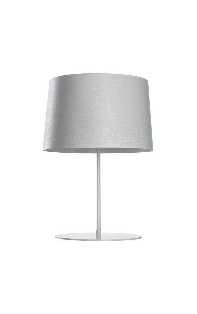 Lampada da tavolo Twiggy XL in materiale composito su base di fibra di vetro verniciato, policarbonato e metallo verniciato color bianco realizzata da Marc Sadler per Foscarini