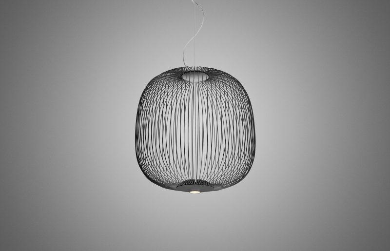 Spokes 2 led suspension lamp by foscarini foscarini.com